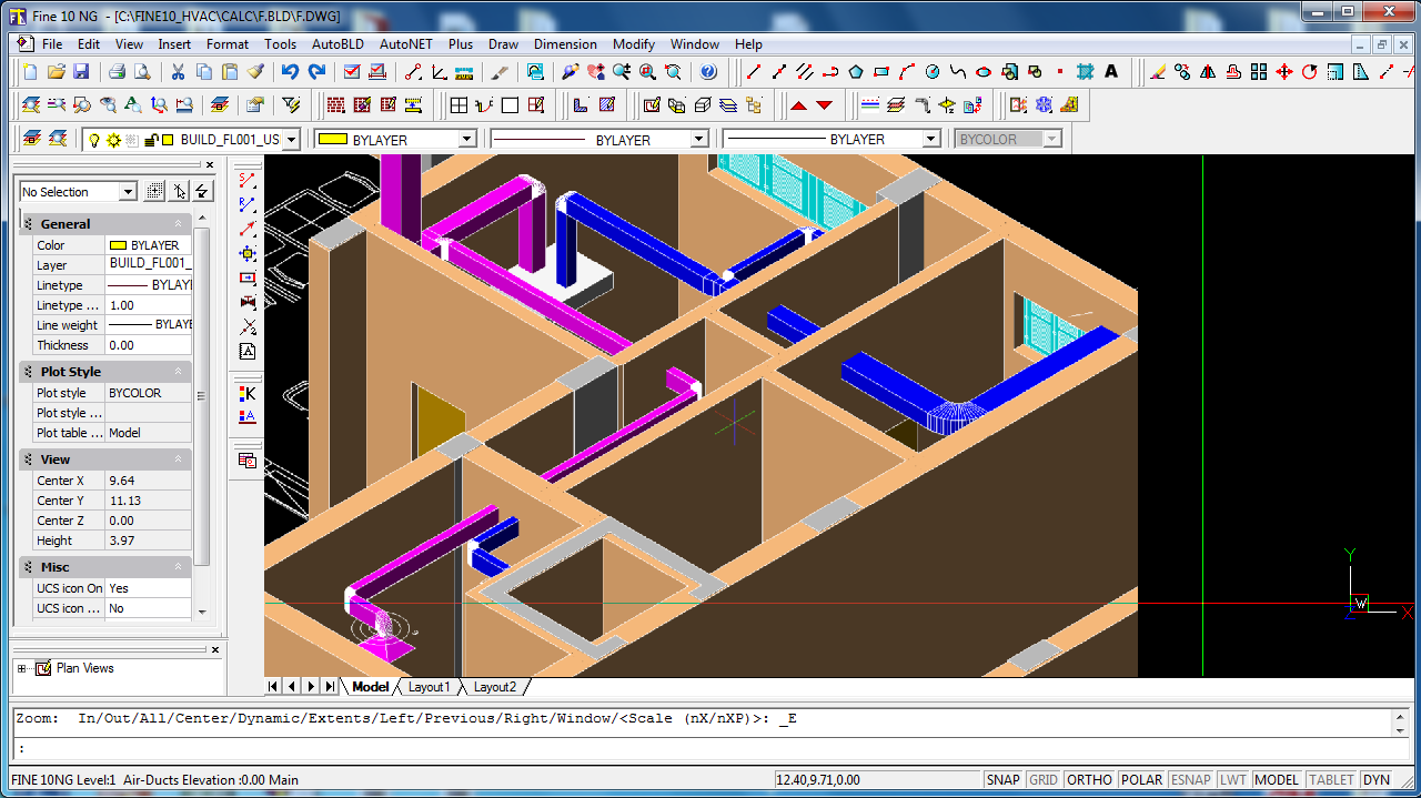 4m Bim Cad Software For Architecture Engineering Construction Hvac Power Draw You Can Pipes Air Ducts In 3d